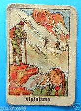 figurines cromos figurine sportive sports anni 30 40 v.a.v. vav alpinismo alpini