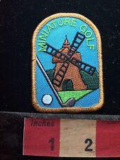Miniature Golf Patch ~ Windmill S73J