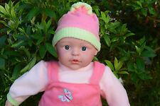 """LARGE INTERACTIVE 16 SOUNDS LOVELY 18"""" AMERICAN CHRIS BABY BOY DOLL VINYL 45CM"""