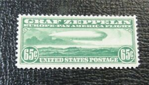 nystamps US Air Mail Stamp # C13 Mint OG H $190   J15x704