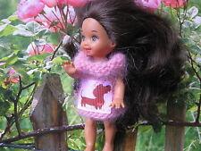 shelly kelly barbie tommy Puppenkleider Handarbeit Angora Geschenke