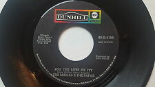 THE MAMAS & THE PAPAS - For The Love Of Ivy / Strange Young Girls 1968 POP PSYCH