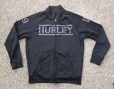 Hurley Black Full Zip Jacket ~ Men's Medium M ~ 99 Skateboarding