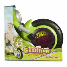 Gazillion Bubbles Cycle Blowing Maker Machine Blower W/ Bubble Solution AGES 3+