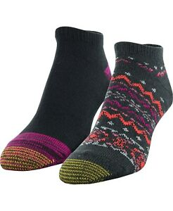 Gold Toe Womens Fireside Socks 2 Pairs Multi 6-9