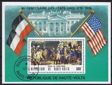 Geschichte History USA Prise of Yorktown Burkina Faso Block 34, 1975