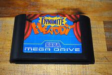 Jeu DYNAMITE HEADDY pour Sega MEGA DRIVE (MD) CARTOUCHE SEULE
