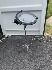 """Free P&P. 10"""" Arbiter Flats Tom Drum w Snare Stand Included. Busking. SD007086"""