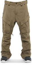 THIRTYTWO Men's MANTRA Snow Pants - Olive - Medium - NWT - LAST ONE LEFT!