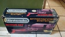 Nintendo Entertainment System Action set NES console in box