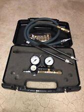 Used 4-stroke Engine Compression Leakdown Cylinder Leak Tester Tool Kit Set