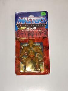 Original He-Man Masters Of The Universe Mattel MOC 1982 MOTU Unopened Vintage