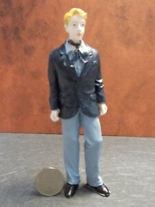 Dollhouse Miniature Doll Man In Suit Figurine C 1:12 scale P84 Dollys Gallery