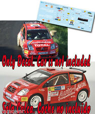 Decal 1:43 Yeray Lemes - CITROEN C2 S1600 - WRC Rally Catalunya 2007