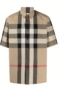 New $ 550 BURBERRY Burberry Thames Shirt