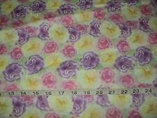 NEW Donna Dewberry Garden Party Quilting Fabric 100% Cotton Sold By 1/2 Yard