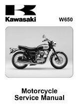 New Kawasaki W650 1999-2006 Repair Service Manual FREE SHIPPING 99924-1245-08