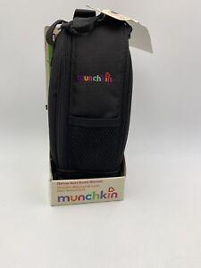 Munchkin Deluxe Auto Bottle Warmer Black New