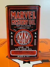Vintage Marvel Mystery Oil Lubricant  *1 QT* Can * Port Chester N.Y. 10573*