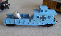 Vintage 1980s HO Scale Life Like Santa Fe Searchlight Car