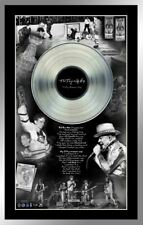 The Tragically Hip and Bill Barilko Framed Collage with Platinum LP