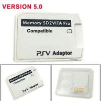 1 x V5.0 SD2VITA PSVSD Pro Adapter For PS Vita Henkaku 3.60 Micro SD Memory Card