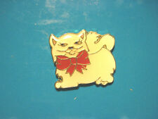 PERSIAN CAT -   hat pin , lapel pin , tie tac , hatpin GIFT BOXED