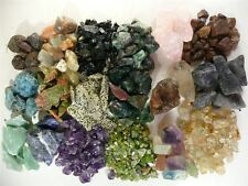 6 Minerals You Choose!  Amethyst, Fluorite, Sapphire and More!  Nearly 3 Lbs!