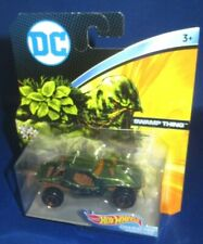 DC UNIVERSE MARVEL COLLECTOR HOT WHEELS SWAMP THING CHARACTER CARS, NEW