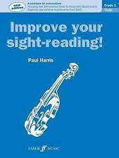 Improve Your Sight-Reading! Violin: Grade 1 by Paul Harris