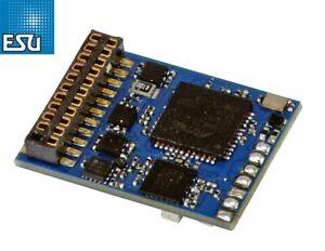 "ESU 58219 LokSound 5.0 FX DCC/MM/SX/M4 ""Leerdecoder"" 21MTC NEM 660 - NEU + OVP"