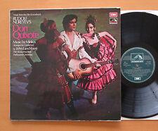 CSD 3749 Don Quixote Rudolf Nureyev Minkus John Lanchberry 1973 EMI Stereo EX/EX