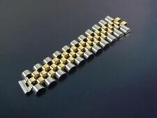 ROLEX Jubilee Stahl/Gold Herren Armband Hälfte 11 Glieder Bracelet Part Links