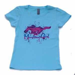 FORD MUSTANG KIDS MUSTANG GIRL IN TURQUOISE SOLD EXCLUSIVELY HERE (CUT SMALL)