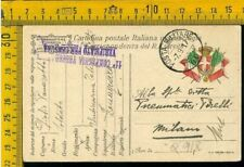 WW1 Posta Militare franchigia prima guerra a Pirelli Q 918 pm 90 telegrafisti