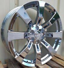 "Chrome Escalade Platinum Premium Luxury Sport Hybrid 22"" Wheel Rim CK375 5409"