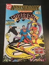 "New Adventures Of Superboy#50 Incredible Condition 9.4(1983)""Anniversary"""