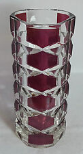 Beautiful French Art Glass Vase. Height: 24.5 cm