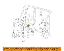 GM OEM Side Sliding Door-Hinge 19257343