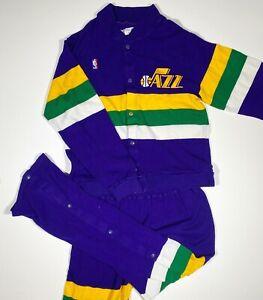 Darrell Griffith Game Worn Utah Jazz Warmup Set 1989 Vintage Rare Sand Knit