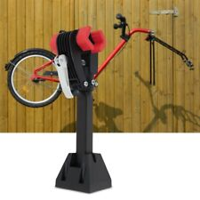 Portable Adjustable Wall Mounted Bike Repair Stand Carbon Steel Bicycle Rack