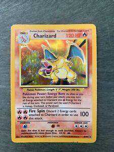 Charizard Base Set Holo 4/102