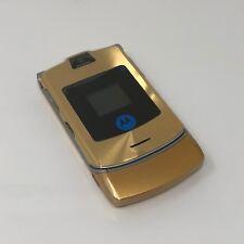 Klapphandy Motorola V3i Gold / Silber ( ohne Simlock )