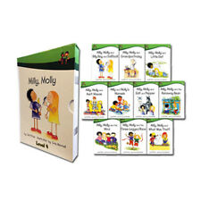 Milly Molly Children 10 Books Collection Box Set School Reading Age 5-7 Level 4