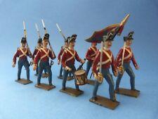 CBG MIGNOT - Infanterie premier empire - 8 soldats anglais - Lot 1