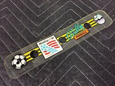 Bally World Cup Soccer 94 Pinball Machine Backboard Plastic 31-1925-9-SP FREESHP