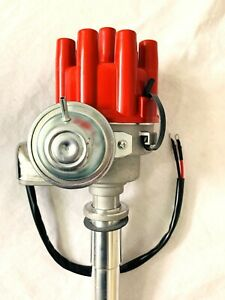 MAXX 50482R Billet Electronic Distributor Small Block Chevy 305 307 327 350 400