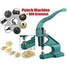 New Heavy Duty Manual Hand Press Grommet Machine Eyelet Hole Banner Punch Tool
