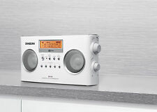 New Sangean Pr-D5 Pll Digital Am/Fm Portable Radio Receiver w/ Ac Adapter