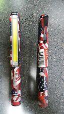 USA NEBO Little LIL Larry 250 Lumen EDC COB LED Magnetic Belt Clip 6373 w/Batter
